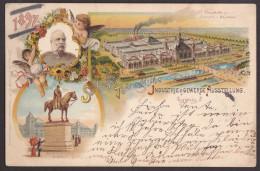 Wdh_ Leipzig Sächsisch-Thüringische Industrie- Und Gewerbe-Ausstellung 1897 - Haupthalle - Gebraucht Used - Leipzig