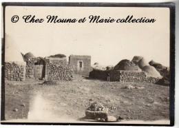SYRIE - CAMPAGNE DE CILICIE 1921 - LEVANT - VILLAGE DE MAIER MAYER - REGION D ALEP - PHOTO MILITAIRE 8.5 X 6 CM - Guerre, Militaire