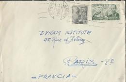 ESPAGNE – Env Pour Paris – Années Après Guerre - Détaillons Collection - A Voir - Lot N° 17275 - Cartas