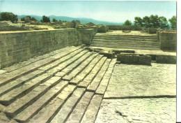 Grecia (Greece) Festo - Il Teatro E La Scala, Phaestos - The Theatre And The Staircase, Le Theatre Et L'Escalier - Greece