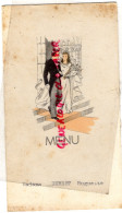 87 - PANAZOL - MENU MARIAGE GEORGES BIGAS ETGEORGETTE CALANDREAU -10 JUILLET 1954 - Menus