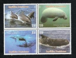 DOMINICAN REP. 2016 - Fauna Dominicana – Fauna Dominicana – Sea Mammals - Dominicaanse Republiek
