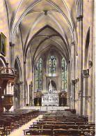 91 - CORBEIL ESSONNES : Petit Lot De 2 CPSM CPM GF (n° 2/14) : Eglise St Spire ( Abside Et Intérieur ) - Essonne - Corbeil Essonnes