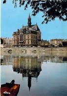 91 - CORBEIL ESSONNES : Petit Lot De 2 CPSM CPM GF (n° 7/14) L'Hotel De Ville ( 1 CPSM Et 1 CPM ) - Essonne - Corbeil Essonnes