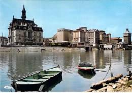 91 - CORBEIL ESSONNES : Petit Lot De 4 CPSM CPM GF (n° 11/14) La Promenade Sur Les Bords De Seine - Essonne - Corbeil Essonnes