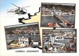 91 - CORBEIL ESSONNES : Petit Lot De 9 CPSM CPM GF (n° 13/14) Diverses Multivues - Essonne - Corbeil Essonnes