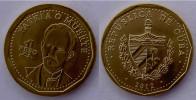 CUBA NEW 2012  1 PESOS  JOSE' MARTI' PATRIA O MORTE FDC UNC - Cuba