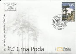 CG 2014-354 SAVE NATURE, CRNA GORA MONTENEGRO, FDC - Montenegro