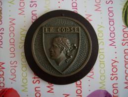 Médaille Bronze Tape De Bouche Le Corse - Non Classés