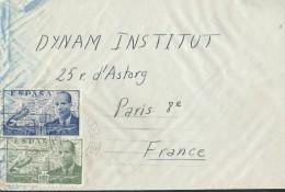 ESPAGNE – Env Pour Paris – Années Après Guerre - Détaillons Collection - A Voir - Lot N° 17281 - Cartas