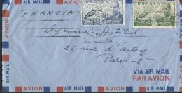 ESPAGNE – Env Pour Paris – Années Après Guerre - Détaillons Collection - A Voir - Lot N° 17282 - Cartas