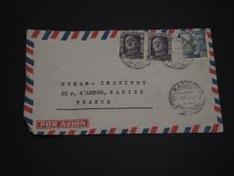 ESPAGNE – Env Pour Paris – Années Après Guerre - Détaillons Collection - A Voir - Lot N° 17283 - Cartas