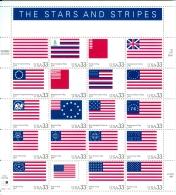USA 2000 The Stars And Stripes MNH** - Blocchi & Foglietti
