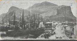 Palermo - Le Port Palerme - Carte Mini (7 X 13,5 Cm) M.S. & Cie Non Circulée - Palermo