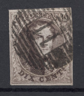N° 10 Margé Perception 11 AYWAILLE - 1858-1862 Medallions (9/12)