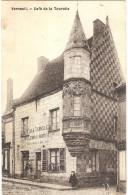 Dépt 27 - VERNEUIL-SUR-AVRE - Café De La Tourelle - (Lemoine Débitant) - Verneuil-sur-Avre
