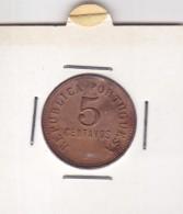 PORTUGAL - ANGOLA - 1924 - 5 CTVS - Angola