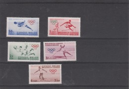 Jeux Olympiques ROME 1960 -  Congo Belge ** MNH - Summer 1960: Rome
