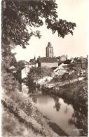 """Dépt 27 - VERNEUIL-SUR-AVRE - Les Fossés - (daguin Au Verso : """"Breteuil-sur-Iton, Forêt - Pêche - Chasse - Camping"""") - Verneuil-sur-Avre"""
