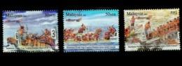 6th IDBF Club Crew World Championship Malaysia 2008 Sport Games Dragon Boat (stamp) MNH - Malaysia (1964-...)