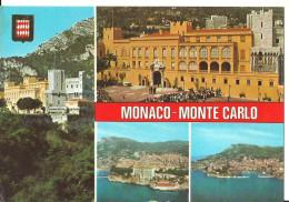 Monaco Montecarlo (Principaute De Monaco) Vedute Del Principato, View, Vues - Rocher, Port - Monaco