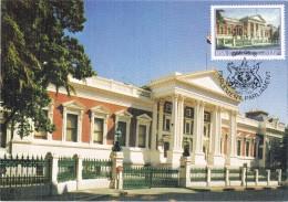 18567. Tarjeta Maxim CAPE (RSA) Republik Suid  Afrika. Parliament, Parlamento - África Del Sur (1961-...)