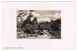 RB 1103 -  1910 Small Town Postcard Quart Pot Creek Stanthorpe Queensland Australia - Scarce Postmark - Australie