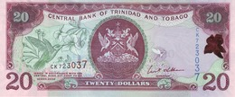TRINIDAD & TOBAGO 20 DOLLARS 2006 P-49 UNC [ TT224a ] - Trinidad & Tobago