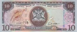 TRINIDAD & TOBAGO 10 DOLLARS 2006 P-48 UNC [ TT223a ] - Trinidad & Tobago
