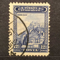 NEW/UNUSED/MINT RARE 12 1/2 KURUS TURKIYE CUMHURIYETI 1929 STAMP 12.5k Value - Nuevos