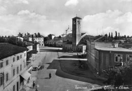 65Or  Italie Turriaco Piazza Liberta E Chiesa - Italy