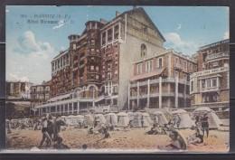 = Carte Postale Biarritz Pittoresque Côte Basque La Plage Et Hôtel Miramar Timbre 190 - Biarritz