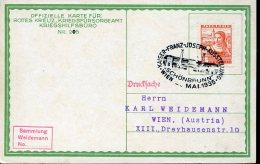 10799 Austria, Special Postmark 1935 Wien  Schonbrunn, Kaiser Franz Joseph Austellung - 1918-1945 1. Republik