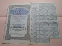 Compagnie INDUSTRIELLE AFRICAINE - N° 28931 Société Congolaise ( Voir Photo Pour Detail )! - Afrique