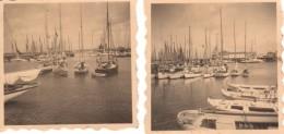 Photo Originale Allemagne - 2 Photos De Heligoland  - Helgoland - 1934 - Port Et Voilier - Braille Bas Gauche ? - - Lugares