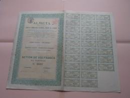 ALMETA N° 02597 Vilvorde ( Voir Photo Pour Detail )! - Actions & Titres