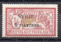 SYRIE N° 116 Neuf Charniere - Syrie (1919-1945)