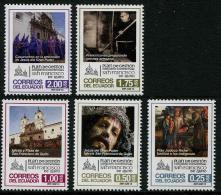 Ecuador (2015)  - Set -   /  Heritage - Paintings - Monastery - Church - Convent - Abbazie E Monasteri