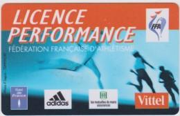 Genre  Carte  Licence  Athlétisme  Tourlaville - Frankreich