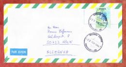 Luftpost, EF Freiheitskopf, Fortaleza Nach Koeln 1994 (46015) - Cartas