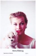 ANITA EKBERG - Film Star Pin Up - Publisher Swiftsure Postcards 2000 - Postales