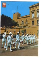 Q2469 Principaute De Monaco - Releve De La Garde Devant Le Palais Princier - Uniformi, Military, Militarie, Militare - Monaco