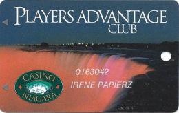 Casino Niagara - Niagara Falls, ON Canada - 1st Issue Slot Card - No Phone# On Reverse - Casino Cards