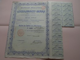 Charbonnages, Mines & Usines GOSSOUDARIEFF - BAÏRAK  N° 13328 ( Details Photo ) ! - Mines