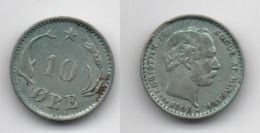 + DANEMARK + 10 ORE 1903 + - Danemark
