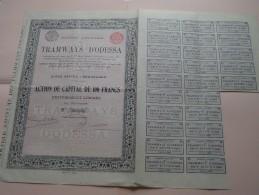 TRAMWAYS D´ODESSA  N° 204183 ( Details Photo ) ! - Shareholdings