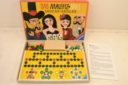 Le Jeu Malefique Das Malefiz Spiel Barricade Barricata Ravensburger édition De 1987, Complet. Jeu Société - Jeux De Société