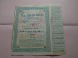 Tôleries De CONSTANTINOWKA ( Donetz )  N° 15909 ( Details Photo ) ! - Shareholdings