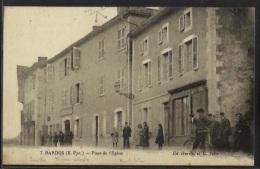 BARDOS - Place De L'Eglise - France