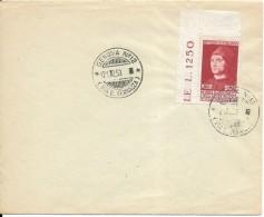 Busta Con Annullo 1953 Francobollo Isolato Antonello Da Messina - Italia